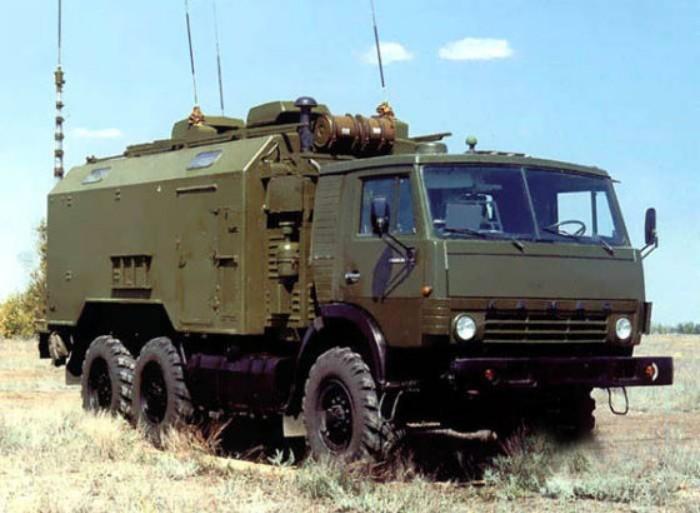 Командно-штабная машина 9С552 (КШМ) ракетного комплекса 'Искандер'