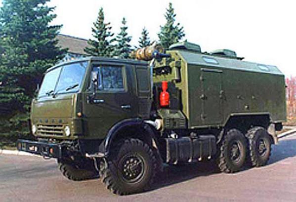Машина регламента и технического обслуживания (МРТО) ОТРК «Искандер»