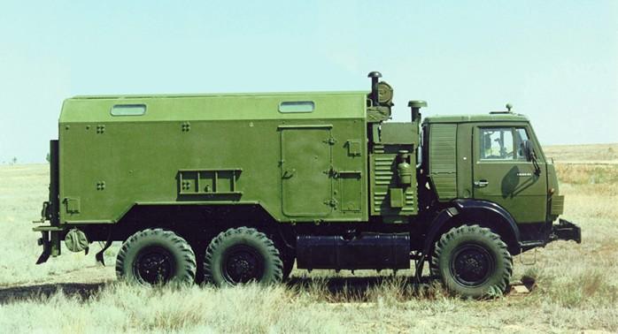 Машина жизнеобеспечения ракетного комплекса 'Искандер'