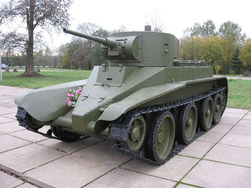 БТ-5 - быстроходный танк