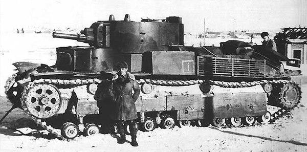 Т-28 трёхбашенный средний танк