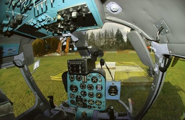 Кабина пилота Ка-26