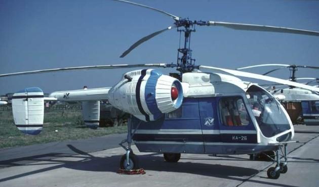 Пассажирский вертолет Ка-26