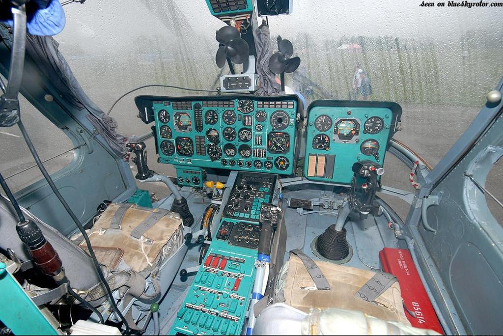 Кабина Ка-27ПС