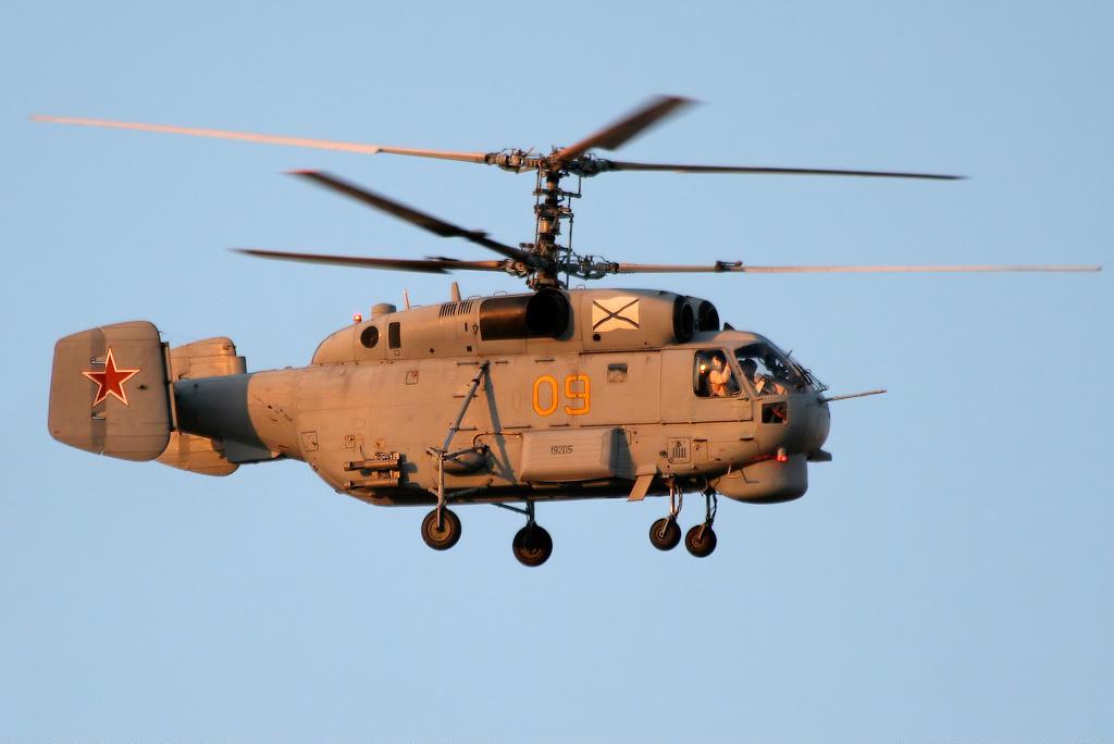 Ка-27 - корабельный вертолет