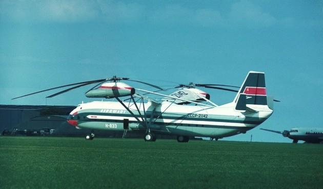 Ми-12 (В-12) - самый тяжелый и грузоподъемный вертолет в мире