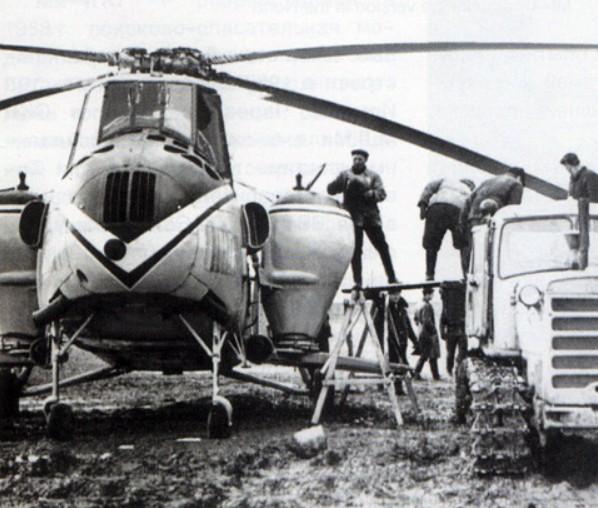 Сельскохозяйственный вертолет Ми-4С