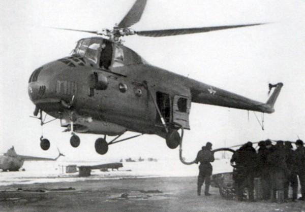 Противопожарный вертолет Ми-4Л