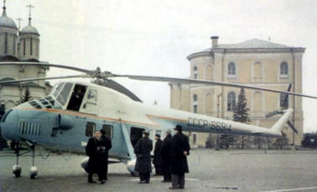 Вертолет-салон Ми-4С Первого секретаря ЦК КПСС Н.С.Хрущева