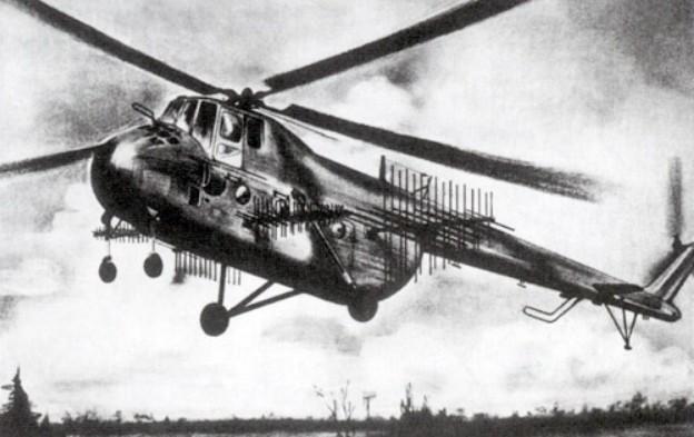 Ми-4МК со станцией радиопротиводействия средствам войсковой связи 'Маяк-3'