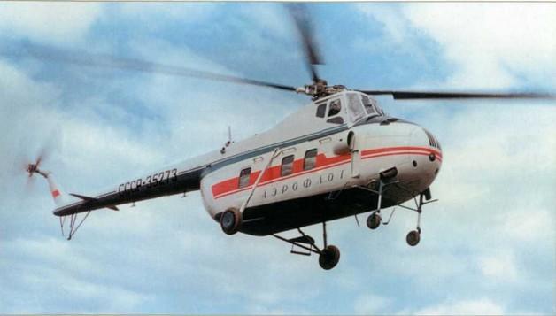 Пассажирский вертолет Ми-4П