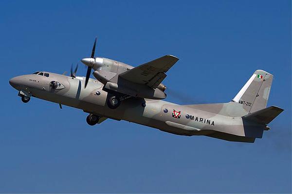 Ан-32Б фото самолета мексиканских ВВС