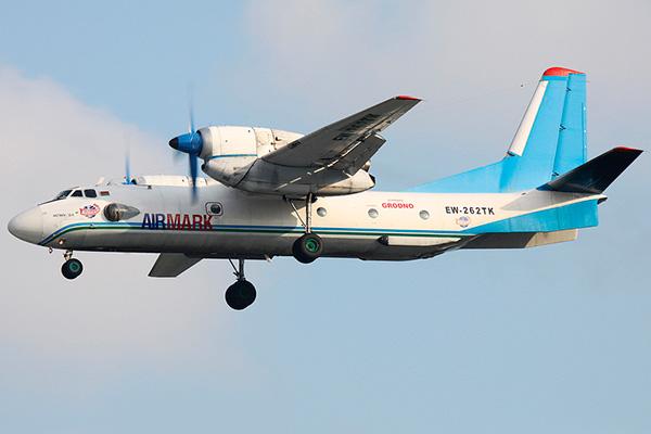 Ан-32Б белорусской авиакомпании 'Airmark'