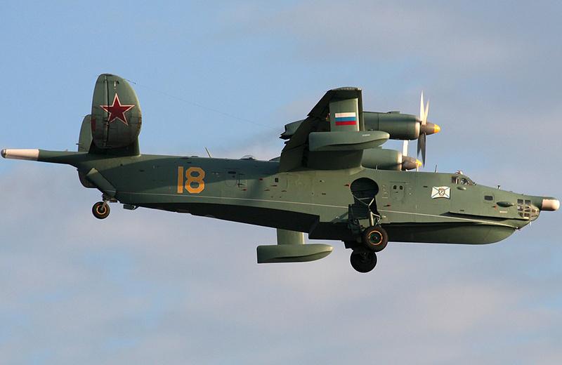 Бе-12 'Чайка' - самолет-амфибия
