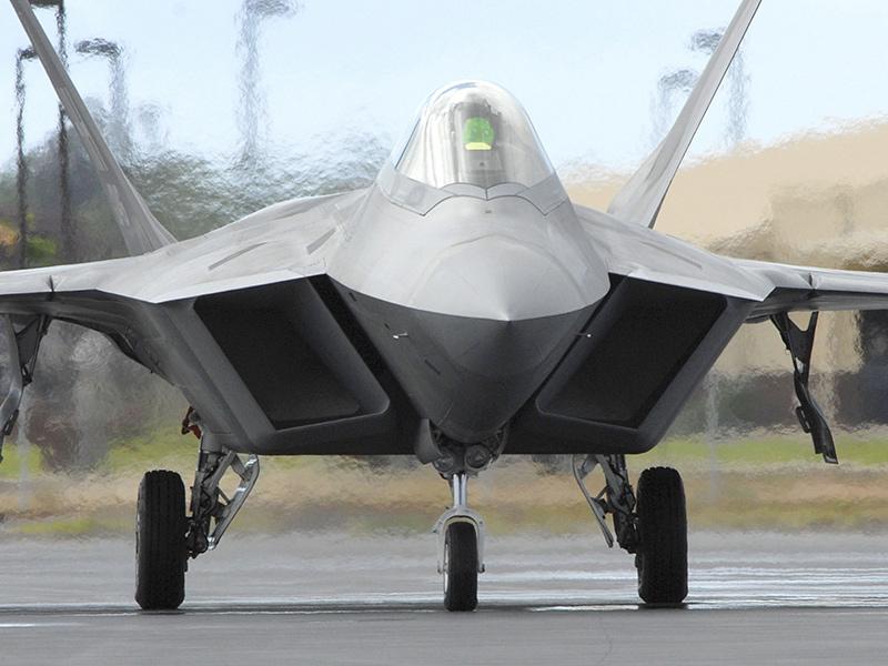 F-22A «Раптор» - американский истребитель пятого поколения