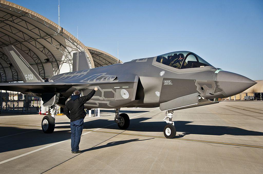 F-35A Королевских ВВС Нидерландов