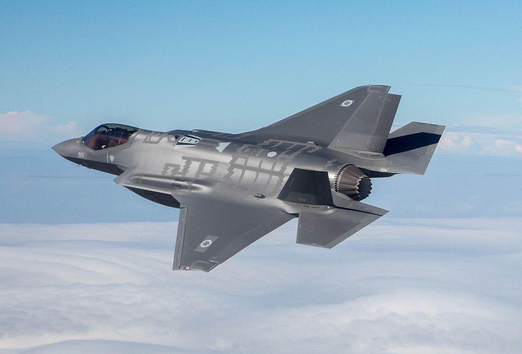 Первый F-35 ВВС Израиля