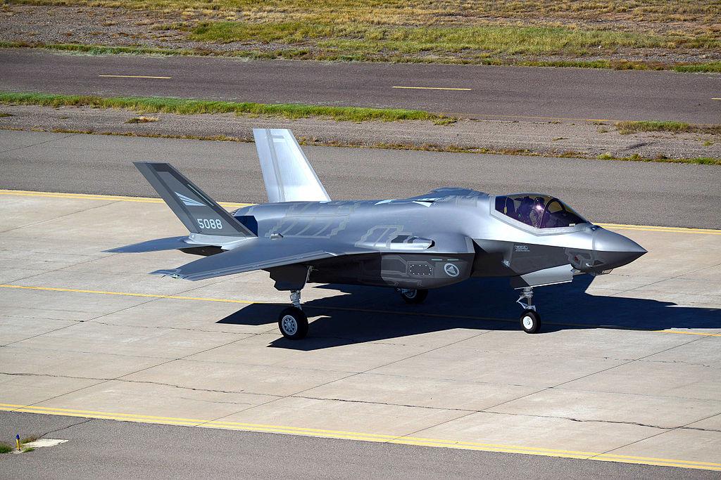 F-35A Королевских ВВС Норвегии