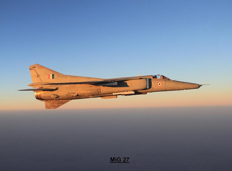 МиГ-27МЛ «Бахадур» ВВС Индии