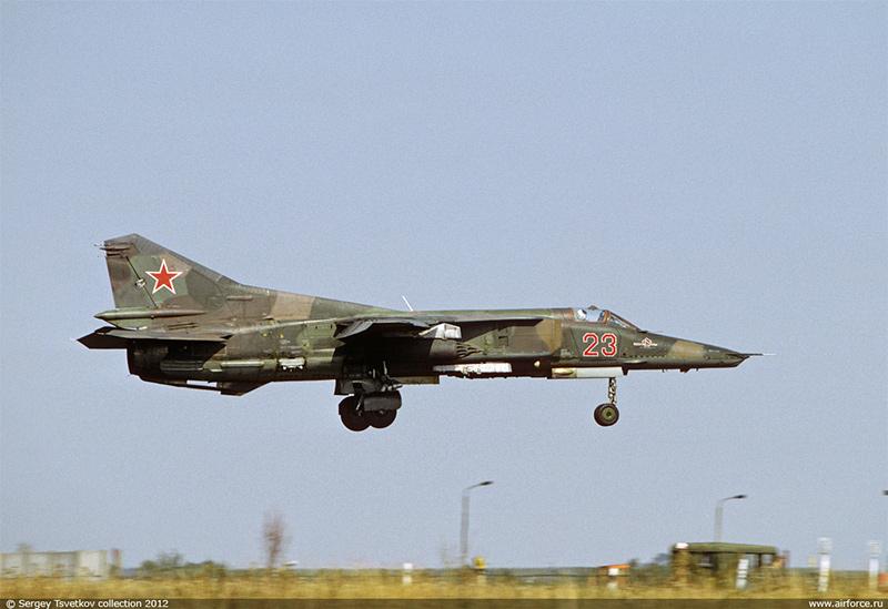 МиГ-27 - истребитель-бомбардировщик