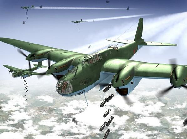 АНТ-42 (ТБ-7, Пе-8) - дальний бомбардировщик
