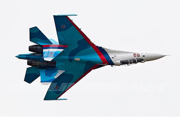 Су-30 - двухместный истребитель поколения '4+'