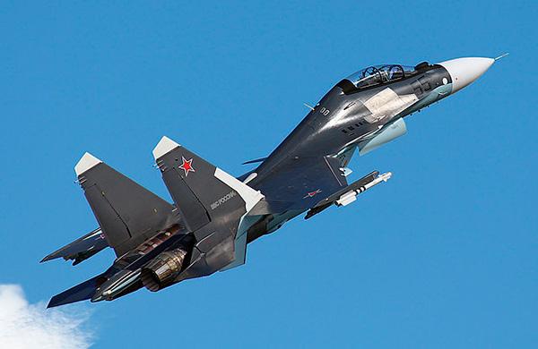 Су-30СМ фото взлета