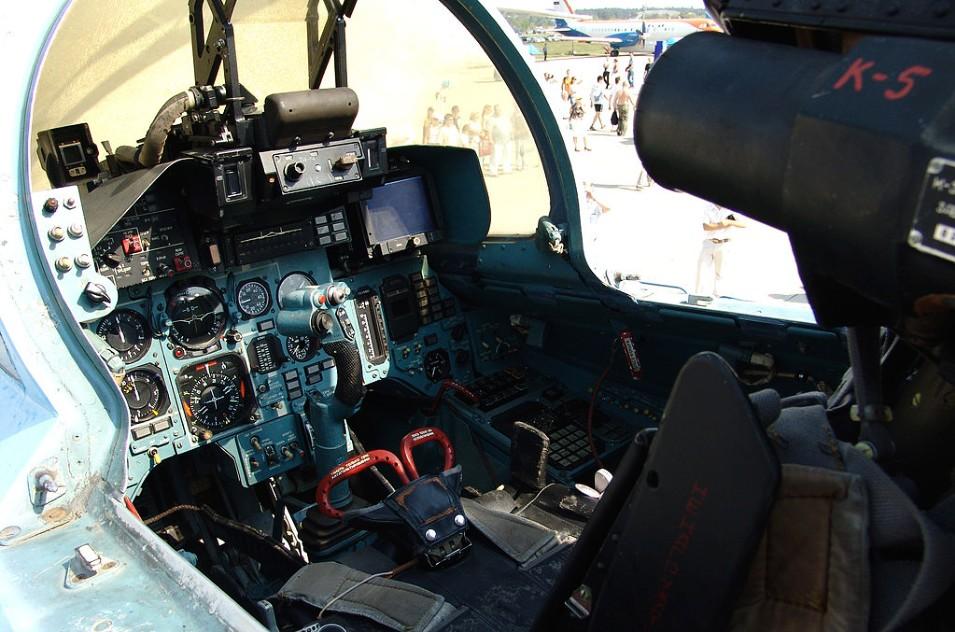 Кабина Су-33