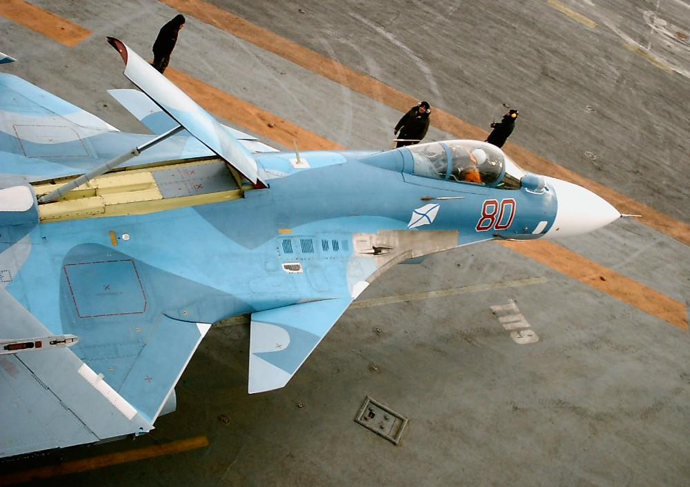 Су-33 (Су-27К) - палубный истребитель