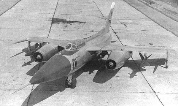 Як-28П — истребитель-перехватчик с ракетным вооружением
