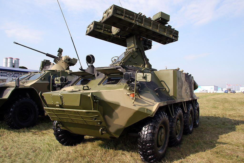 ЗРК 9А35М3-К «Стрела-10М3-К». Колёсный вариант на базе БТР-60