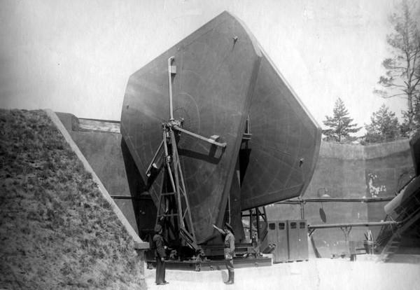 Вертикальная антенна станции Б-200 комплекса С-25 'Беркут'