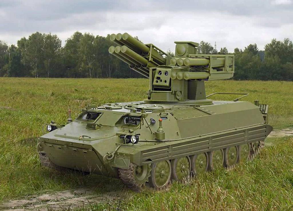 ЗРК «Сосна» - зенитный ракетный комплекс малой дальности