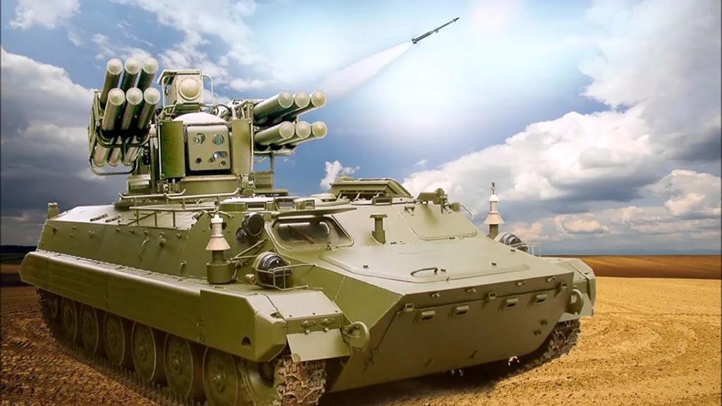 ЗРК «Сосна» - зенитный ракетный комплекс
