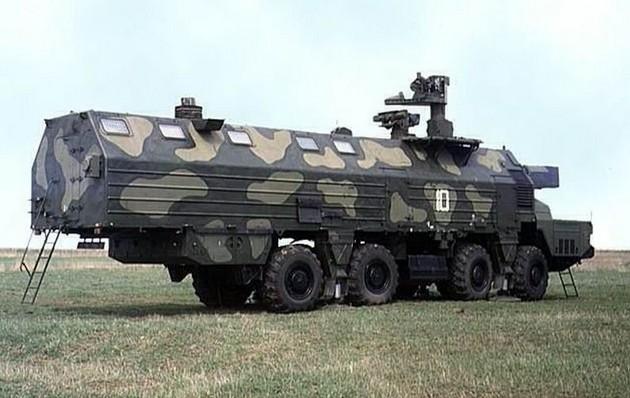 Центральный пост (ЦП) берегового самоходного артиллерийского комплекса А-222 «Берег»