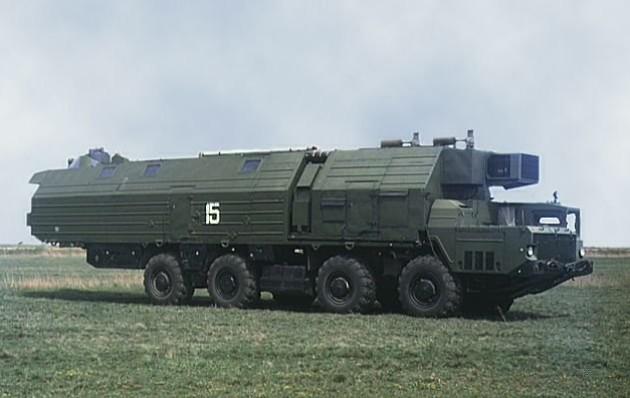 Машина обеспечения боевого дежурства (МОБД) комплекса А-222 «Берег»