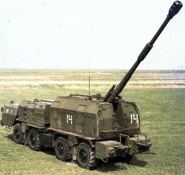 А-222 «Берег» - береговой самоходный артиллерийский комплекс