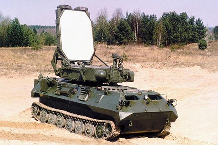 Зоопарк-1 (1Л219М) - контрбатарейная РЛС