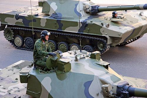 Десантируемая САО 2С25 'Спрут-СД'