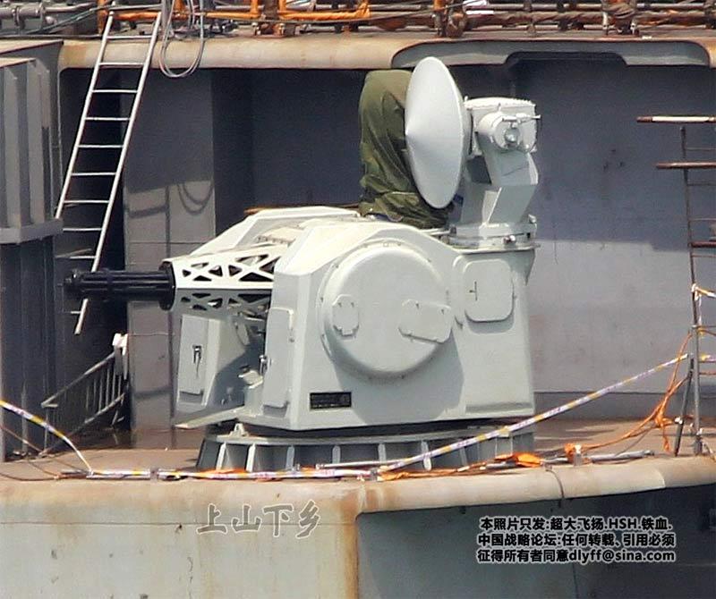 30-мм семиствольная установка ближней обороны «тип 1030»
