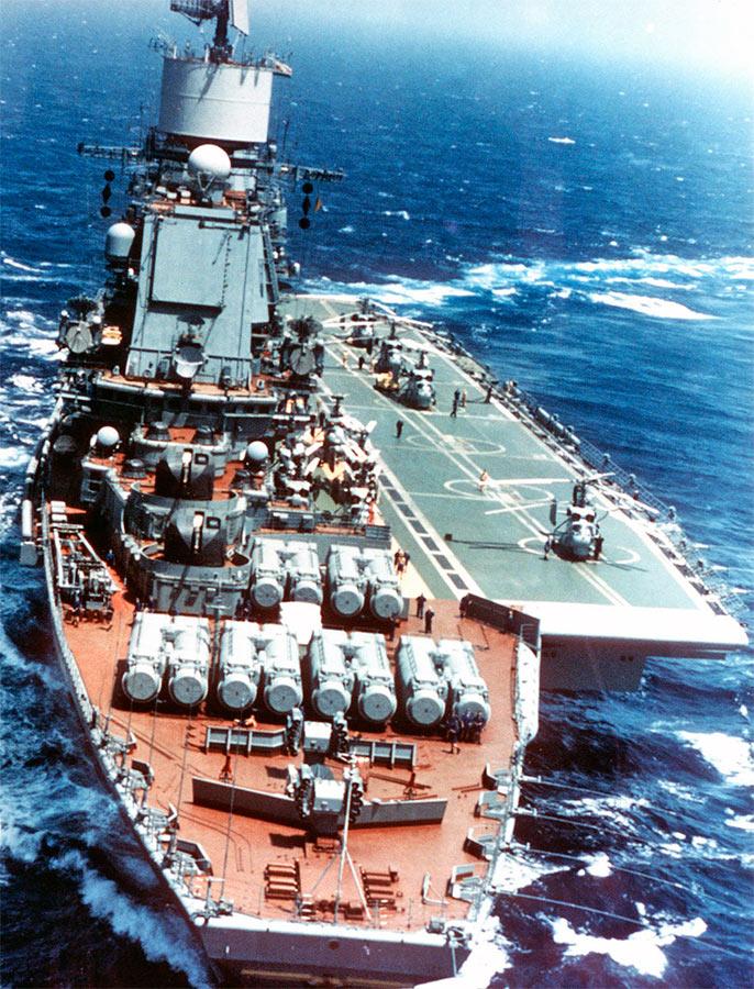 «Адмирал Горшков», авианесущий крейсер проекта 1143.4