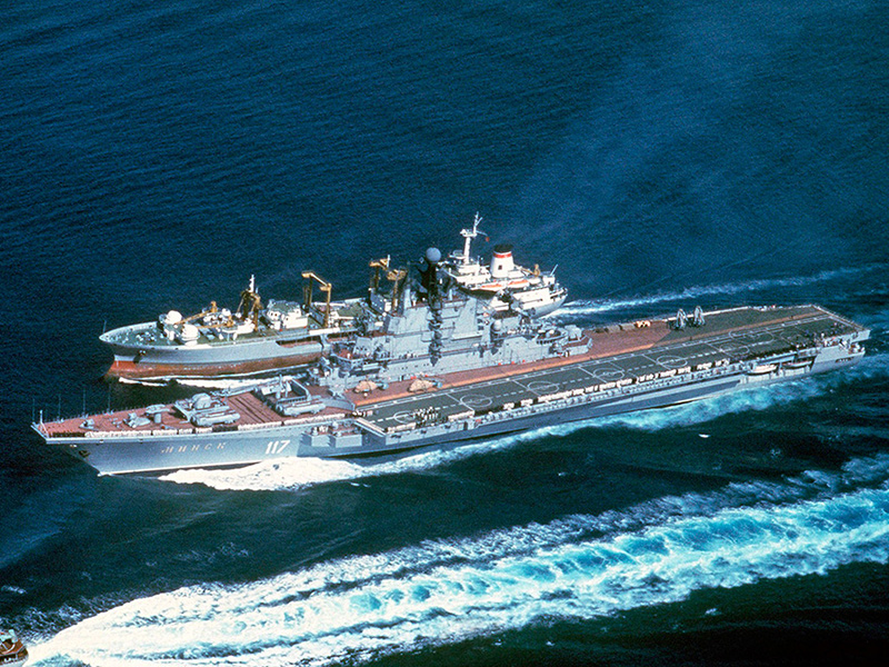 Проект 1143 «Кречет» - тяжелые авианесущие крейсеры
