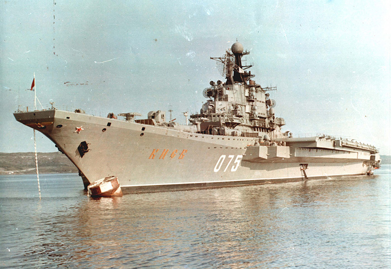 ТАКР «Киев» — заложен 21.07.1970 г. на Черноморском ССЗ в Николаеве