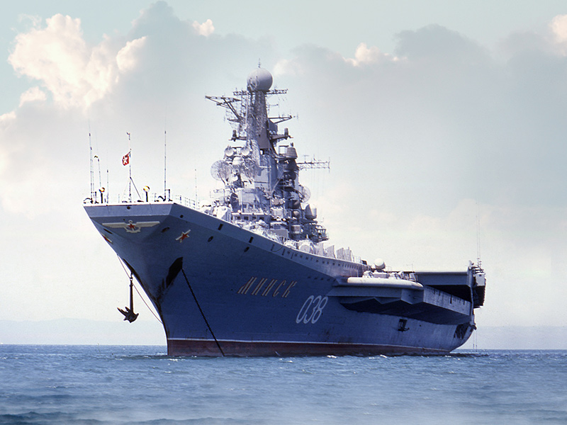 ТАКР «Минск» — заложен 28.12.1972 на Черноморском ССЗ в Николаеве
