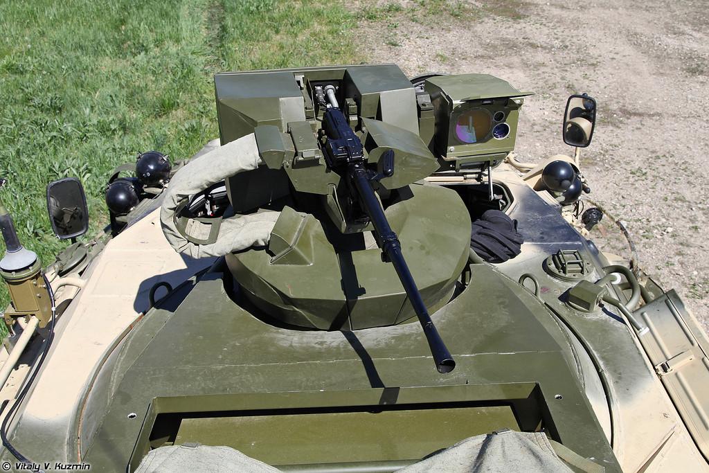Дистанционно управляемый боевой модуль с пулеметом ПКТ