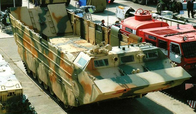 ПТС-4 - плавающий транспортер