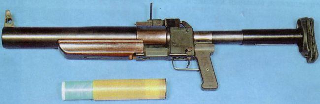 Ручной гранатомет РГС-50 выпуска 1980х годов