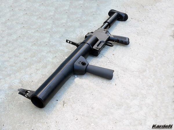 РГС-50М - ручной гранатомет специальный