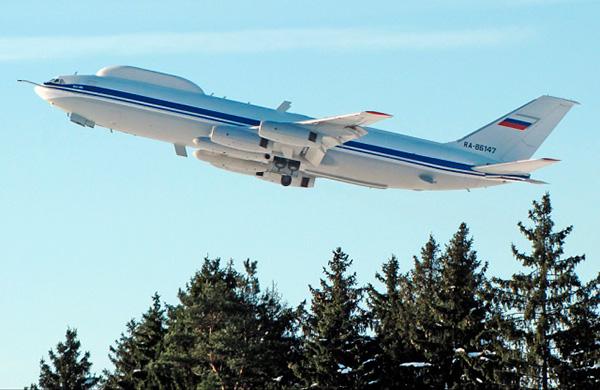 Самолет Ил-86ВКП