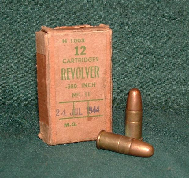 Коробка для патронов .380' Revolver Mk IIz